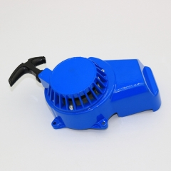 Blue 47cc 49cc Mini Aluminum ATV Pull Recoil Starter Dirt Bike Scooter
