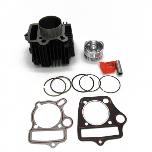 52mm Cylinder Body with Head Gaskets Pistons Kit Set for 110cc ATV Quad Dirt Pit