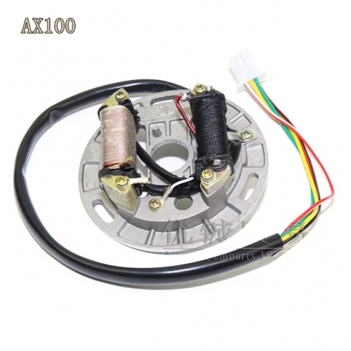 12V Magneto Stator for Suzuki AX100 Motorcycle